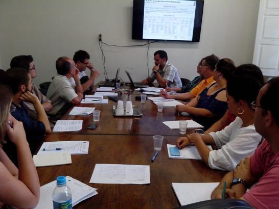 Reunião dos coordenadores